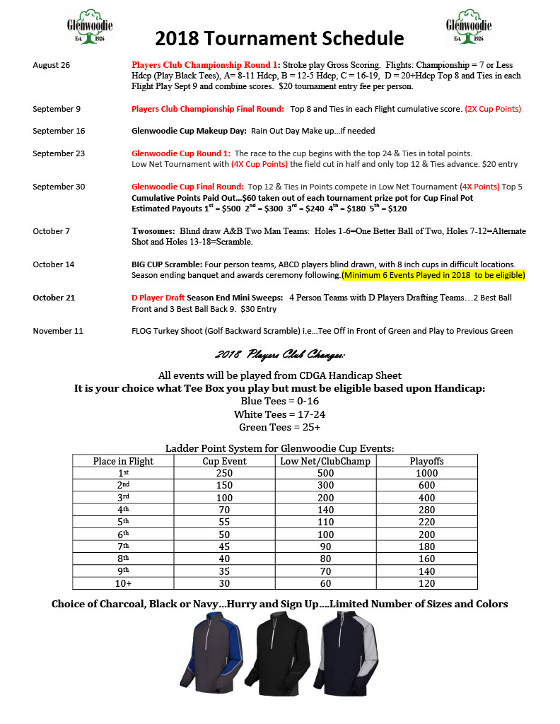 2018 players club sign up sheet email web1024 3 glenwoodie golf