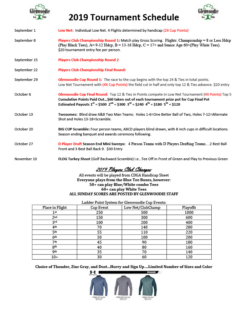 photograph relating to Thunder Schedule Printable named 2019 gamers club signal up sheet Program Printable F1024_3